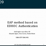 IETF Internet-Draft EDHOC Authentication