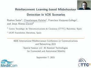 INSPIRE-5Gplus presentation at IEEE MeditCom 2021